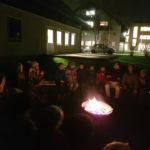 Erstes Lagerfeuer in diesem Jahr